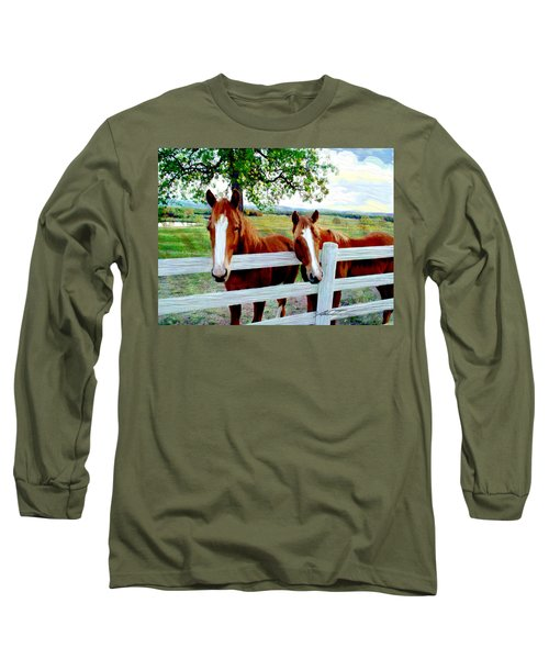 Twin Ponies Long Sleeve T-Shirt
