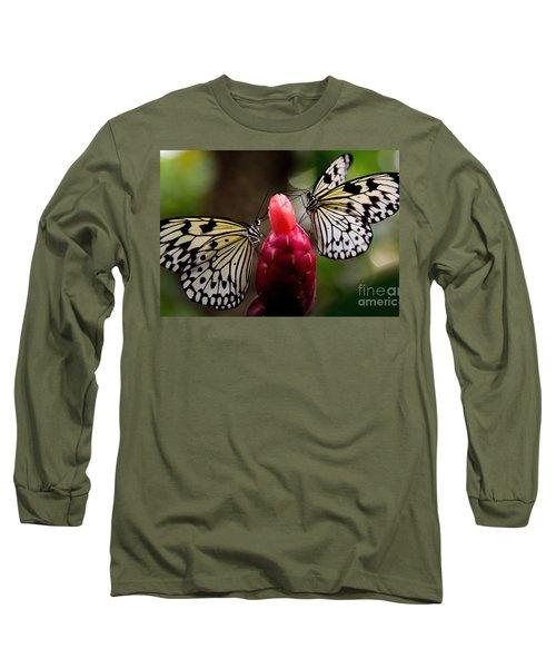 Two Butterflies Long Sleeve T-Shirt