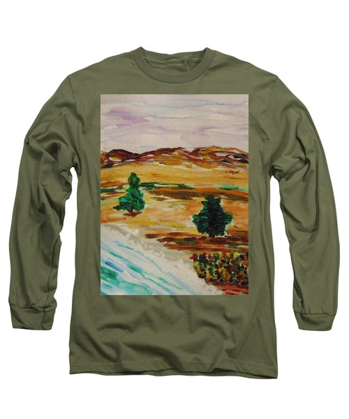 Two Cedars By The Sea Long Sleeve T-Shirt