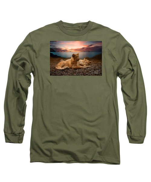Long Sleeve T-Shirt featuring the photograph Two by Christine Sponchia