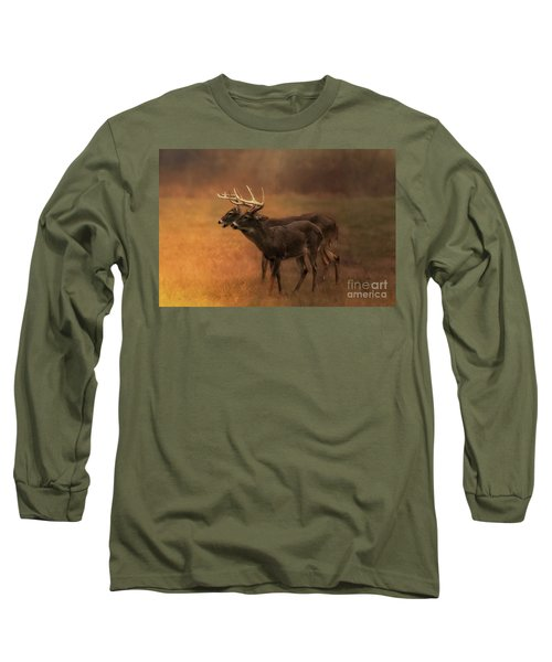 Two For One Long Sleeve T-Shirt by Geraldine DeBoer