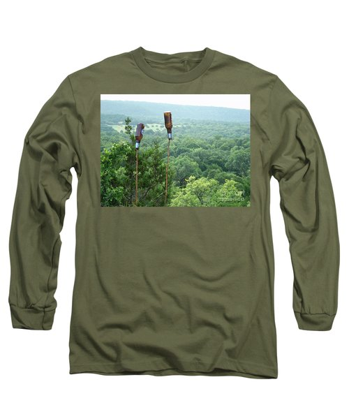 Long Sleeve T-Shirt featuring the photograph Two For The Road by Joe Jake Pratt