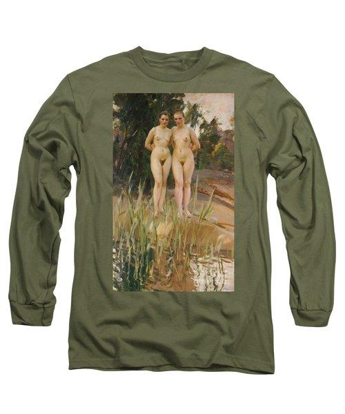 Two Friends  Long Sleeve T-Shirt