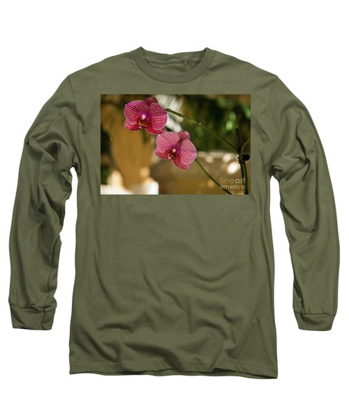 Two Friends Long Sleeve T-Shirt by Sandy Molinaro