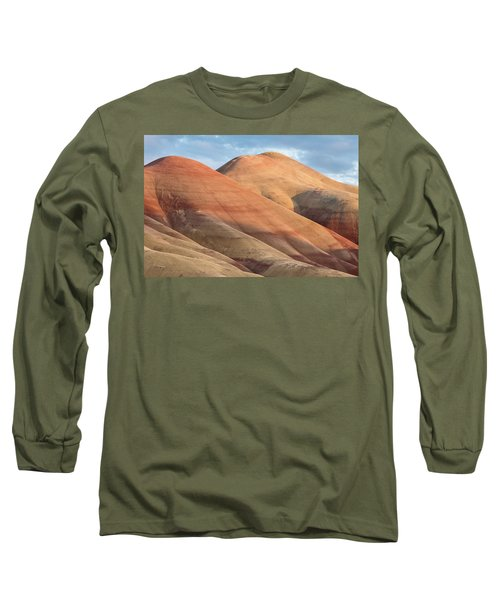 Long Sleeve T-Shirt featuring the photograph Two Painted Hills by Greg Nyquist