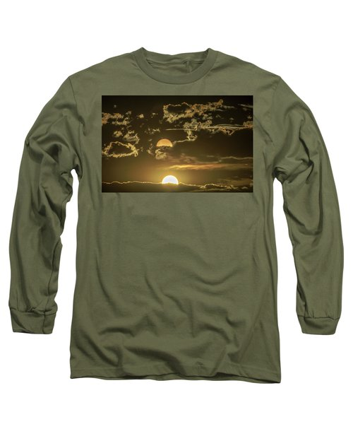 Two Suns Setting Long Sleeve T-Shirt