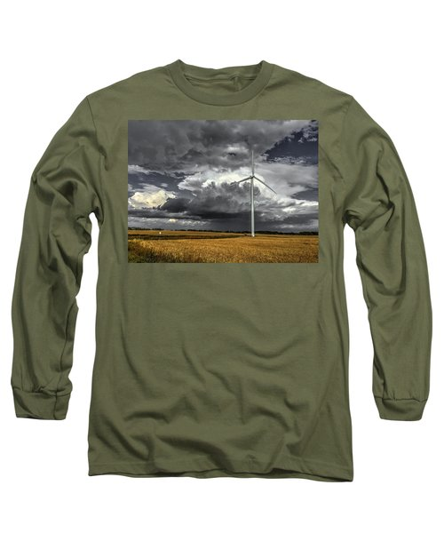 Two Tone Long Sleeve T-Shirt