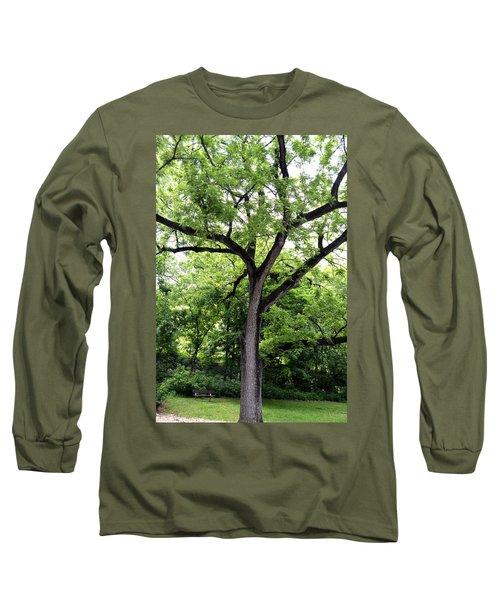 Two Tone Tree Long Sleeve T-Shirt