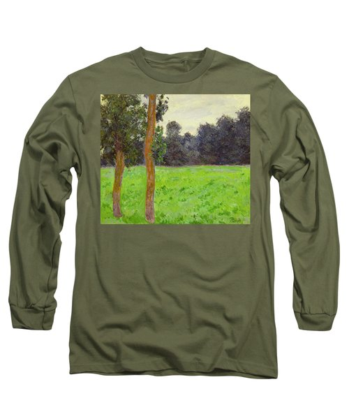 Two Trees In A Field Long Sleeve T-Shirt