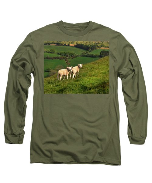 Two Welsh Lambs Long Sleeve T-Shirt