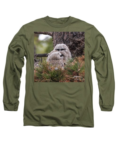Two Whooo's  Long Sleeve T-Shirt