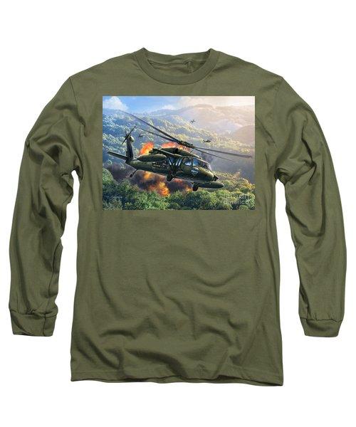 Uh-60 Blackhawk Long Sleeve T-Shirt