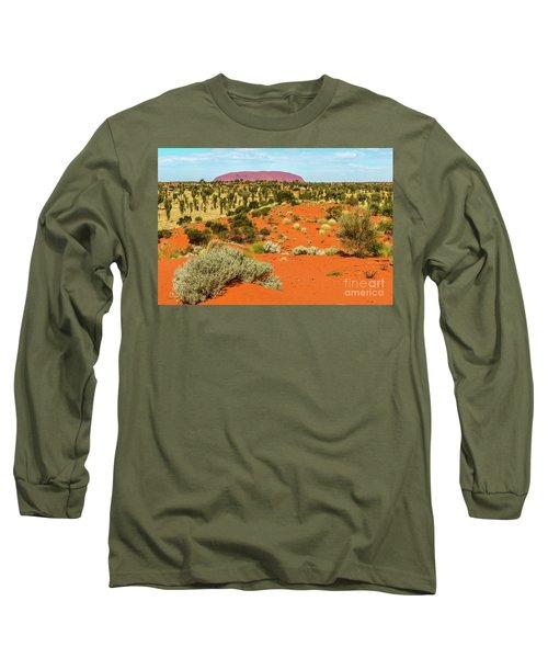 Long Sleeve T-Shirt featuring the photograph Uluru 01 by Werner Padarin