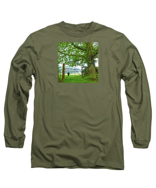 Umbrella At The Ready Long Sleeve T-Shirt