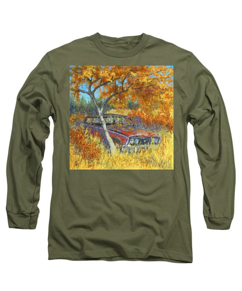 Under The Chinese Elm Tree Long Sleeve T-Shirt