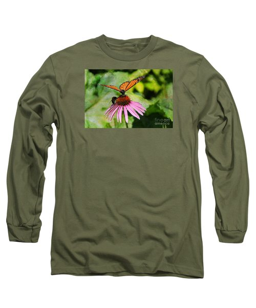 Under My Wing Long Sleeve T-Shirt by Yumi Johnson