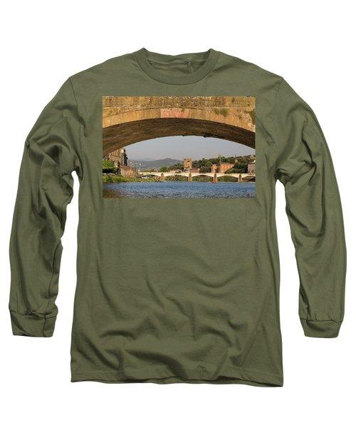 Under The Ponte Santa Trinita Long Sleeve T-Shirt
