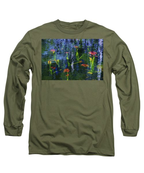 Underwater Lilies Long Sleeve T-Shirt
