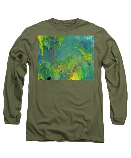 Underwater Paradise Long Sleeve T-Shirt by Vicki Pelham