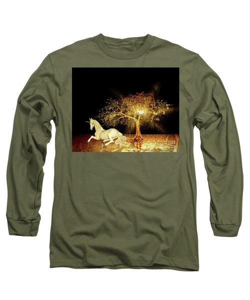 Unicorn Resting Series 1 Long Sleeve T-Shirt