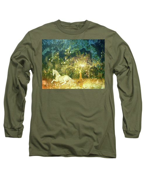 Unicorn Resting Series 3 Long Sleeve T-Shirt