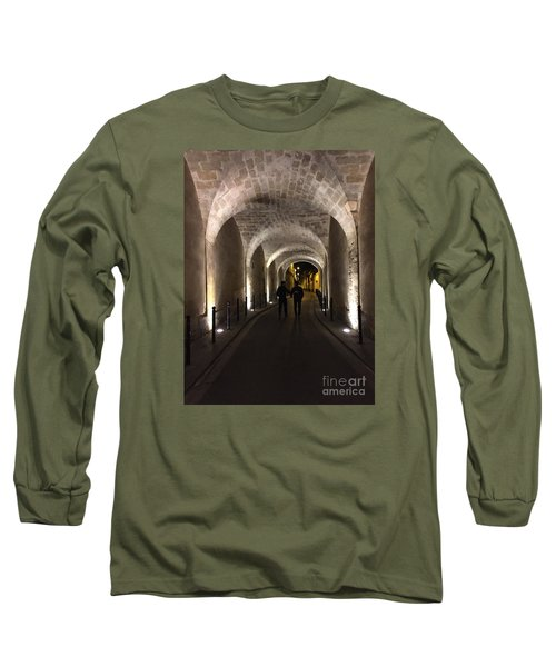 Unique Walkway Long Sleeve T-Shirt