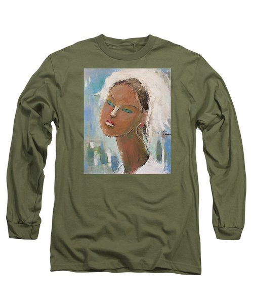 Unknown Long Sleeve T-Shirt by Becky Kim