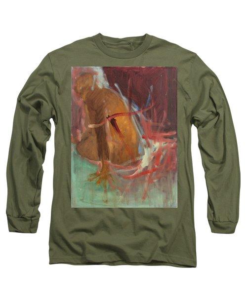 Unquiet Long Sleeve T-Shirt by Daun Soden-Greene