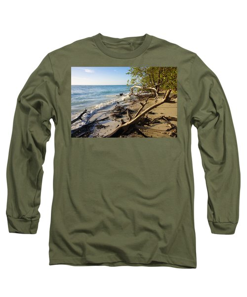 The Unspoiled Beaty Of Barefoot Beach Preserve In Naples, Fl Long Sleeve T-Shirt