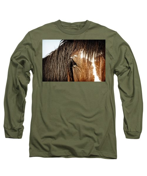 Untamed Long Sleeve T-Shirt by Lincoln Rogers