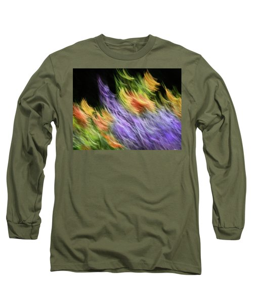 Untitled #8080208, From The Soul Searching Series Long Sleeve T-Shirt