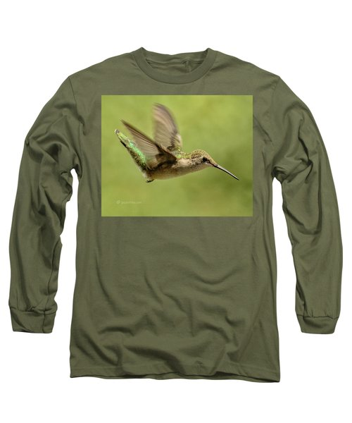 Untitled Hum_bird_one Long Sleeve T-Shirt
