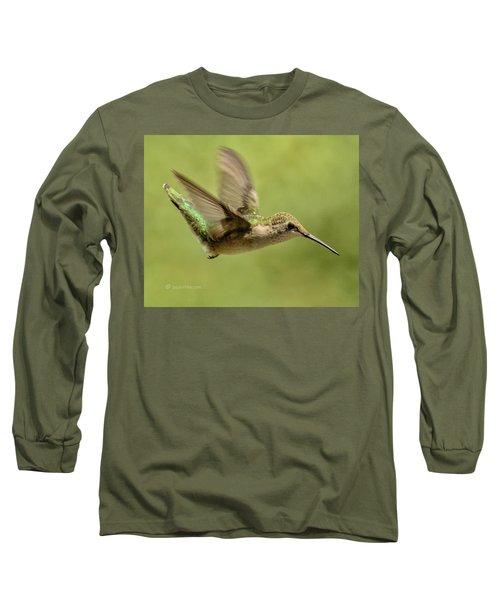 Untitled Hum_bird_one Long Sleeve T-Shirt