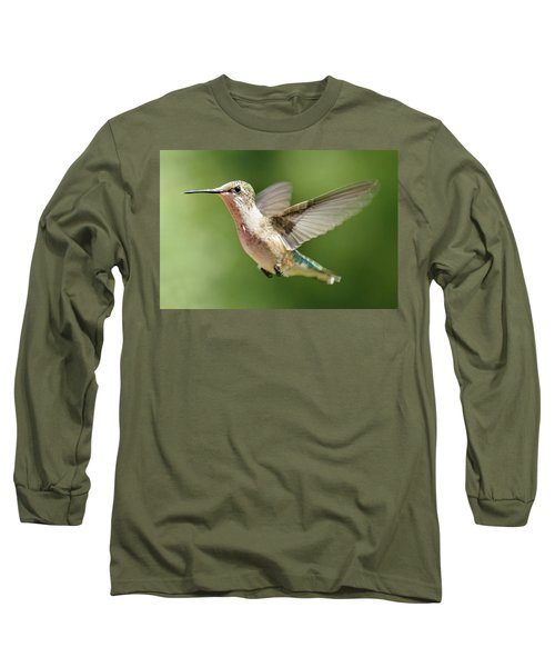Untitled Hum_bird_two Long Sleeve T-Shirt