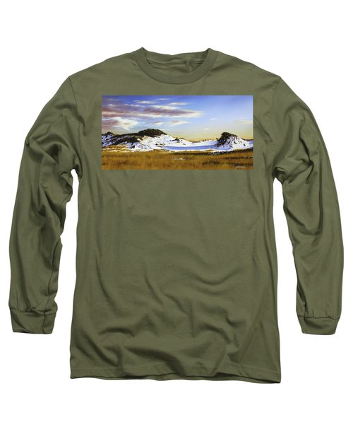 Unwalked Long Sleeve T-Shirt by Rick McKinney