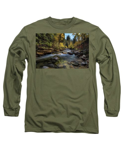 Up A Colorado Creek Long Sleeve T-Shirt