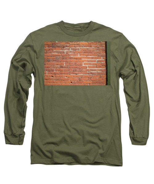 Up Against A Wall Long Sleeve T-Shirt