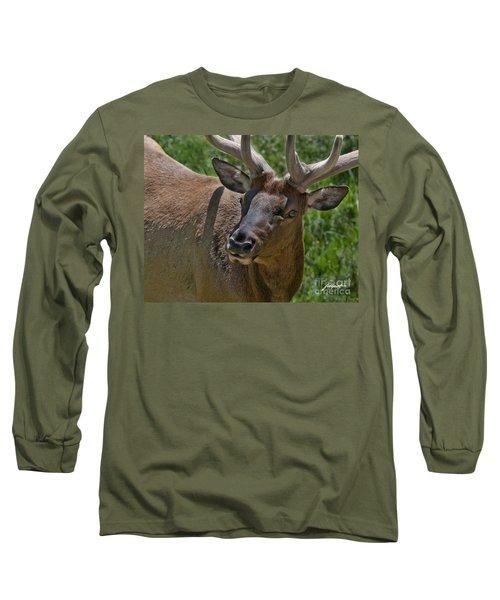Up  Close Long Sleeve T-Shirt