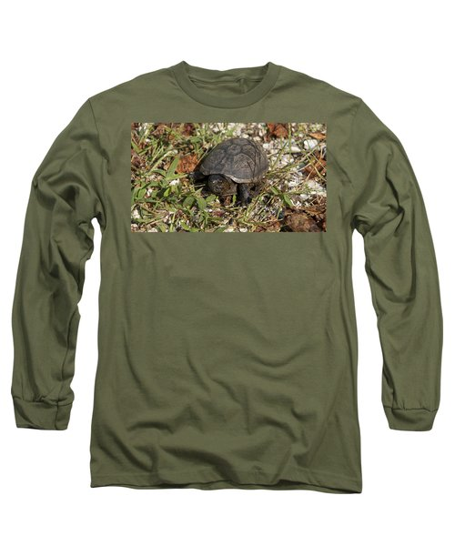Up Close With Slow Long Sleeve T-Shirt
