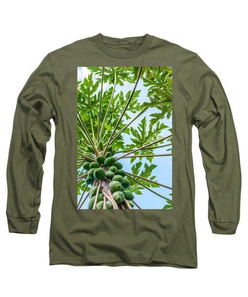 Up The Papaya Long Sleeve T-Shirt
