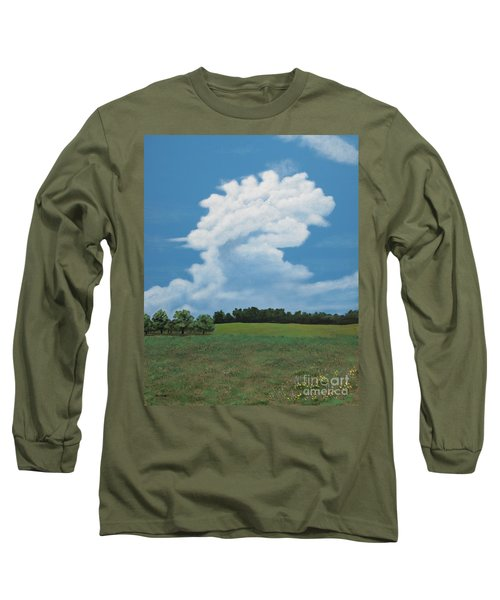 Updraft Long Sleeve T-Shirt by Billinda Brandli DeVillez