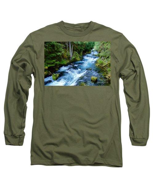 Upper Mckenzie Long Sleeve T-Shirt by Sean Griffin
