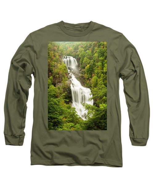 Upper Whitewater Falls Long Sleeve T-Shirt