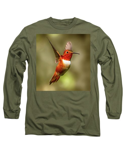 Upright Long Sleeve T-Shirt by Sheldon Bilsker