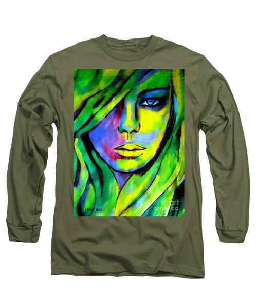 Urban Camouflage Long Sleeve T-Shirt by Helena Wierzbicki