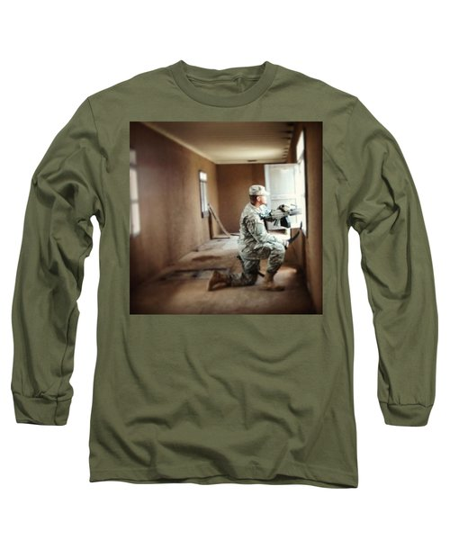 Urban Ops Exercise. #military #police Long Sleeve T-Shirt
