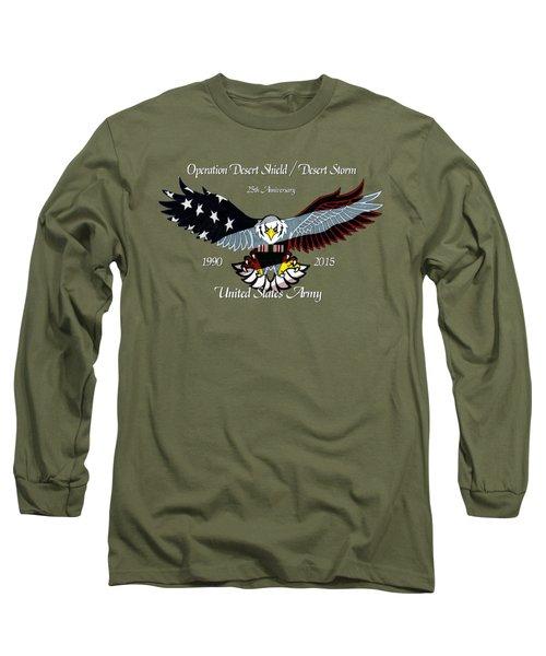 Us Army Desert Storm Long Sleeve T-Shirt