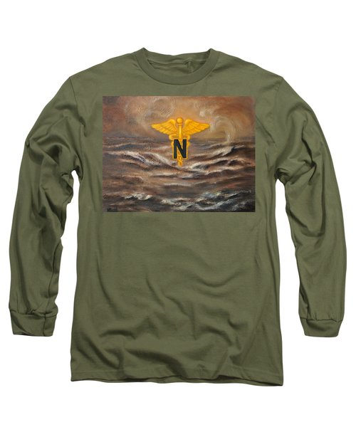 U.s. Army Nurse Corps Desert Storm Long Sleeve T-Shirt