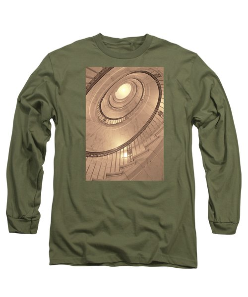 U. S. Supreme Court Oval Stairway Long Sleeve T-Shirt