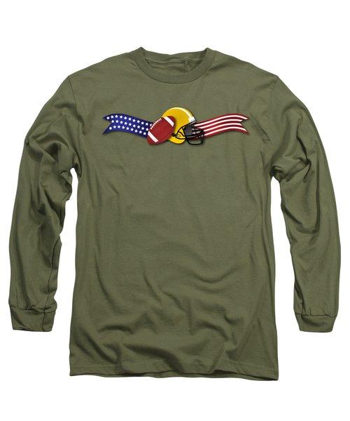 Usa Football Long Sleeve T-Shirt